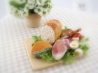Awesome doll house food by Wild Sage